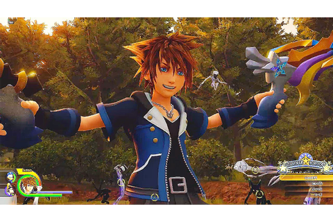KINGDOM HEARTS 3 - 15 Minutes of Gameplay Demo (PS4 XBOX ...