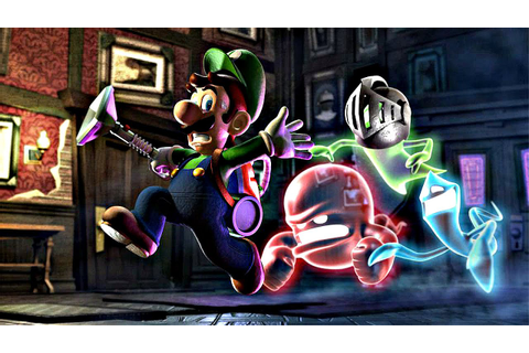 Luigi's Mansion Arcade Game 2 Seat Closed Booth Game At ...