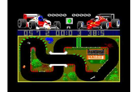 Grand Prix Simulator (Amstrad CPC) - 1986 - YouTube