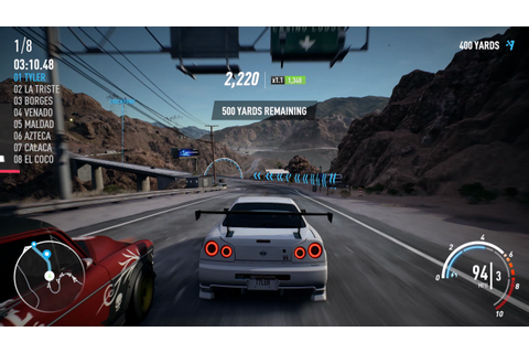 Need for Speed Payback PC Specs Revealed, New R34 Gameplay ...