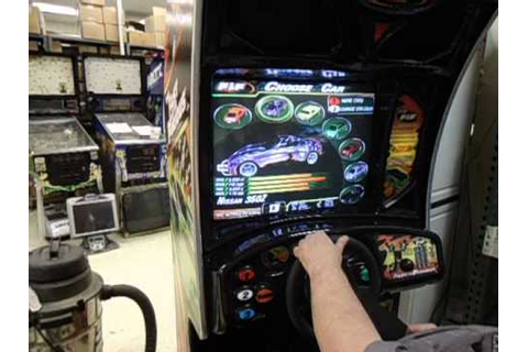 Fast and Furious 1 Arcade Game - YouTube