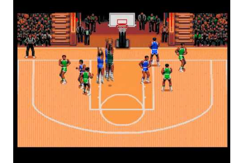 TV Sports Basketball - Amiga gameplay - YouTube