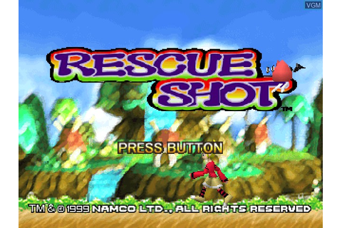 Rescue Shot for Sony Playstation - The Video Games Museum