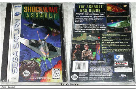 Shockwave Assault Sega Saturn | United States of America ...