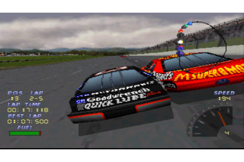 Who Remembers this game?: NASCAR 98 - YouTube