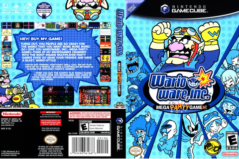 GZWE01 - Wario Ware Inc.: Mega Party Game$!