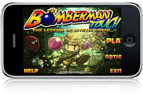 iPhone App of the Day: Bomberman Touch – The Legend of ...