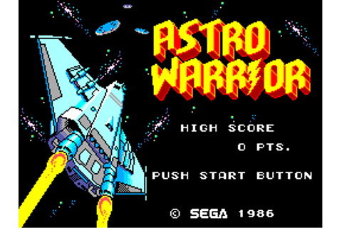 Astro Warrior (アストロウォリアー) - Games - SMS Power!