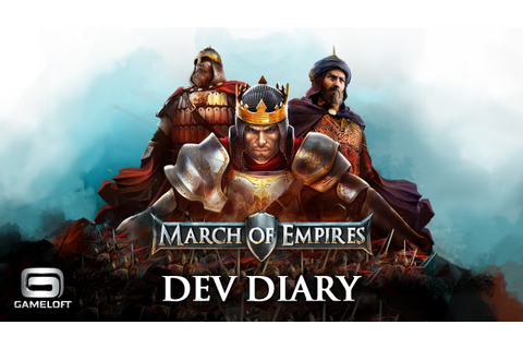 March of Empires - Dev Diary - YouTube