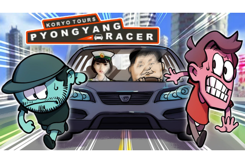 Pyongyang Racer (North Korean Video Game) - YouTube