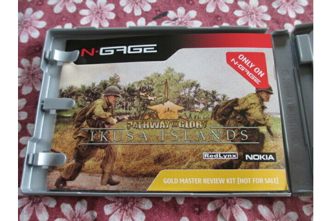 N-Gage Pathway to Glory Ikusa Islands Gold Master Review ...