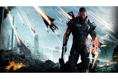 Mass Effect 3 Game Movie (All Cutscenes) HD - YouTube