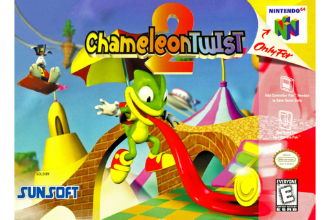 Chameleon Twist 2 Nintendo 64 Game