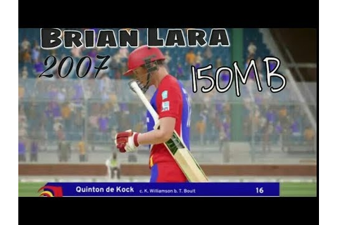 Brian Lara 2007 - Pressure Play Iso Psp Android || Highly ...
