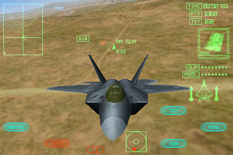ACE COMBAT Xi Skies of Incursion download - iOS game app ...