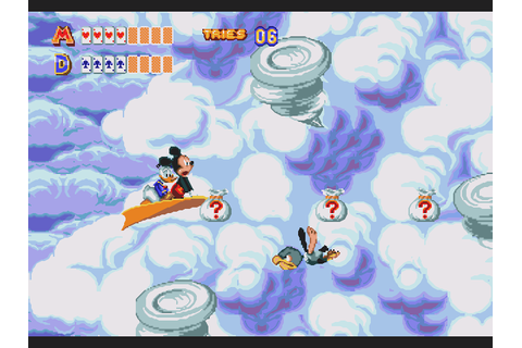 Retro Review: World of Illusion Starring Mickey Mouse and ...