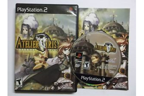 Atelier Iris: Eternal Mana Sony PlayStation 2 Ps2 COMPLETE ...