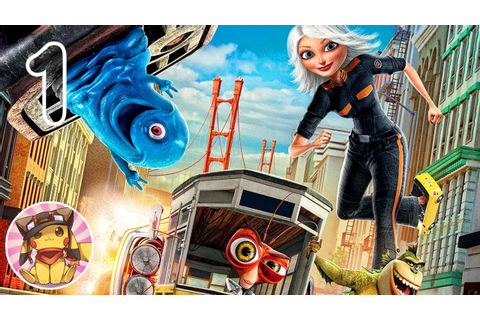 MONSTERS vs ALIENS Movie Game - Monster Escape (chapter 1 ...