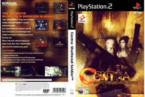 Download Game Contra - Shattered Soldier PS2 Full Version ...