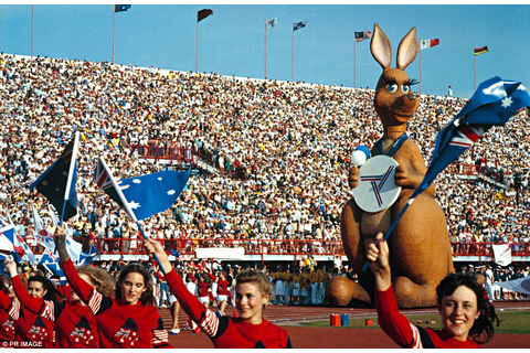 ... of the mascot at the 1982 Commonwealth Games that was held in Brisbane