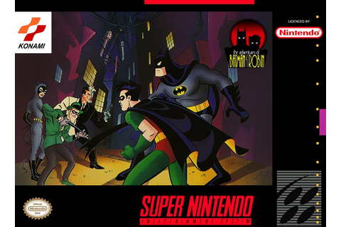 Batman & Robin (SNES): Passwords – VIDEO GAMES TV