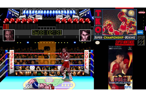 SNES A Day 106: TKO Super Championship Boxing - YouTube