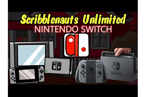 NINTENDO SWITCH in the Scribblenauts Unlimited Object ...