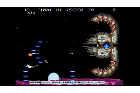Gradius III (Arcade/PS2) Stage 10A: Last (Boss Rush) - YouTube