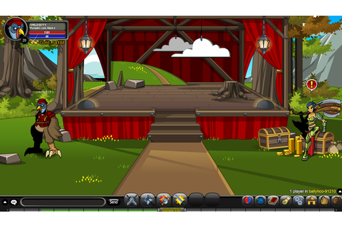 Ballyhoo (Location) - AQW