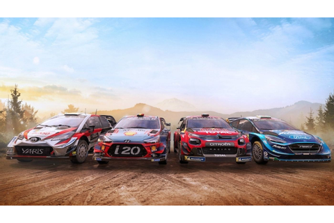 WRC 8 video game launched