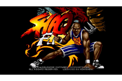 Shaq-fu: Best Game Ever - YouTube
