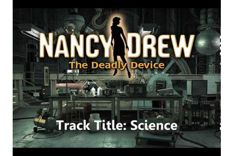 Music Track: Science - Nancy Drew: The Deadly Device - YouTube