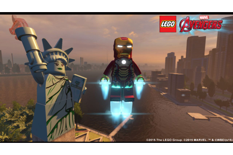 LEGO Marvel's Avengers open-world video shows New York ...