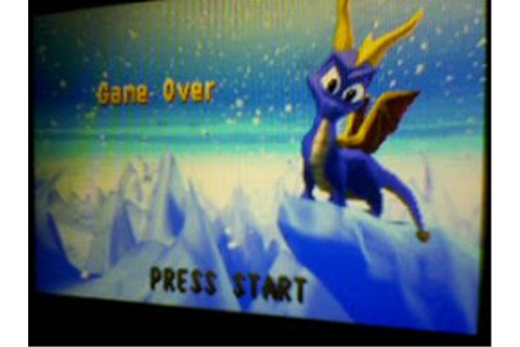 Spyro Season of Ice Game Over by MattyTheEevee on DeviantArt