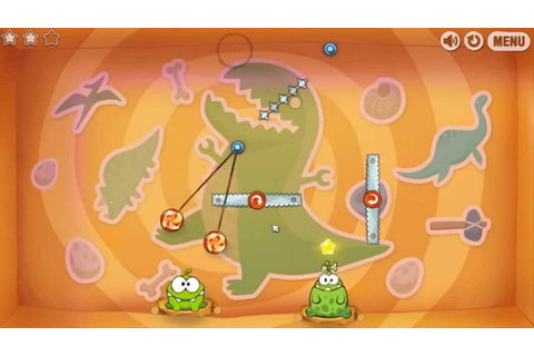 Cut the Rope: Time Travel -- Level 6-5 [The Stone Age ...