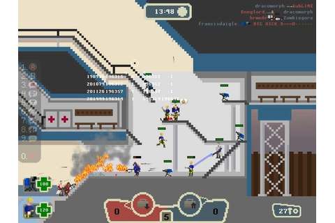 Gang Garrison 2 shooter retro game like Team Fortress 2 ...