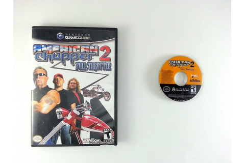 American Chopper 2 Full Throttle game for Gamecube | The ...