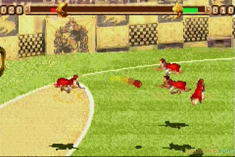 Gameplay Harry Potter : Coupe du Monde de Quidditch ...
