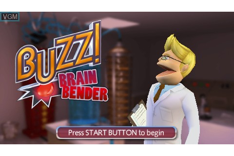 Buzz! Brain Bender for Sony PSP - The Video Games Museum