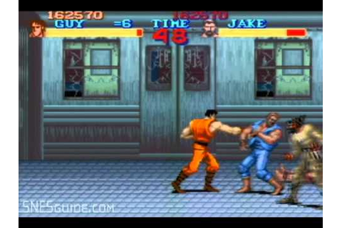 Final Fight Guy - SNES Gameplay - YouTube
