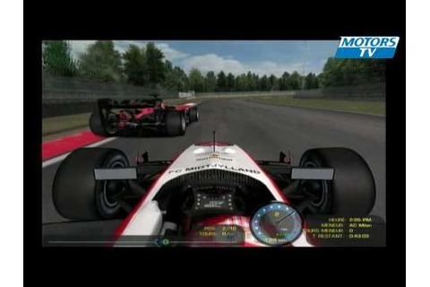 3D Motors Superleague Formula 2009 The Game - YouTube