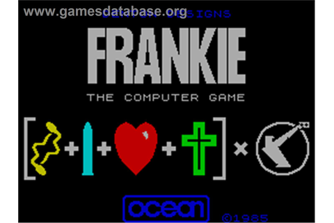 Frankie Goes to Hollywood - Sinclair ZX Spectrum - Games ...