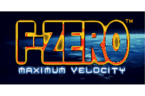 F-Zero: Maximum Velocity Download Game | GameFabrique