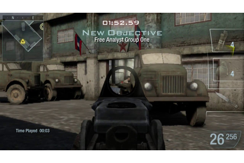 Call of Duty Black Ops: Declassified - PS Vita Gameplay ...
