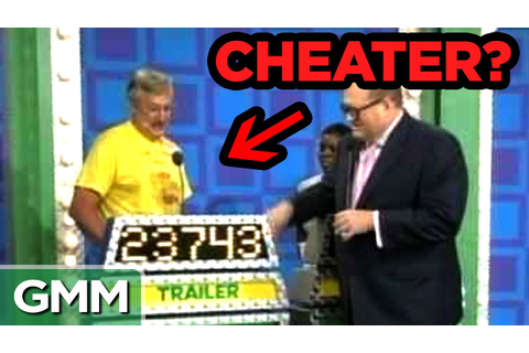 Amazing Game Show Cheaters - YouTube
