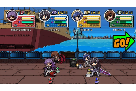 Phantom Breaker: Battle Grounds Screenshots