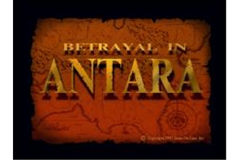 Betrayal in Antara Download (1997 Role playing Game)