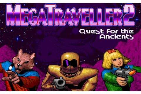 MegaTraveller 2: Quest for The Ancients Download (1991 ...