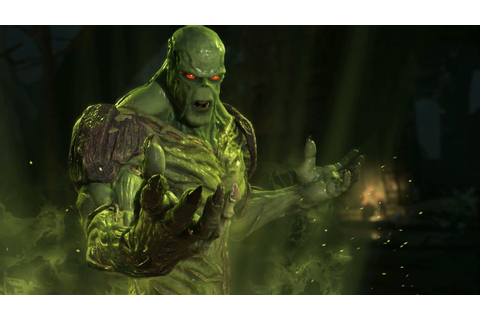 Injustice 2: Swamp Thing Gameplay Walkthrough (1080 60fps ...