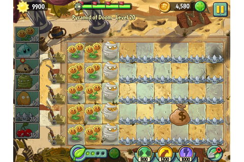Best strategy for pyramid of Doom. | Plants vs. Zombies ...